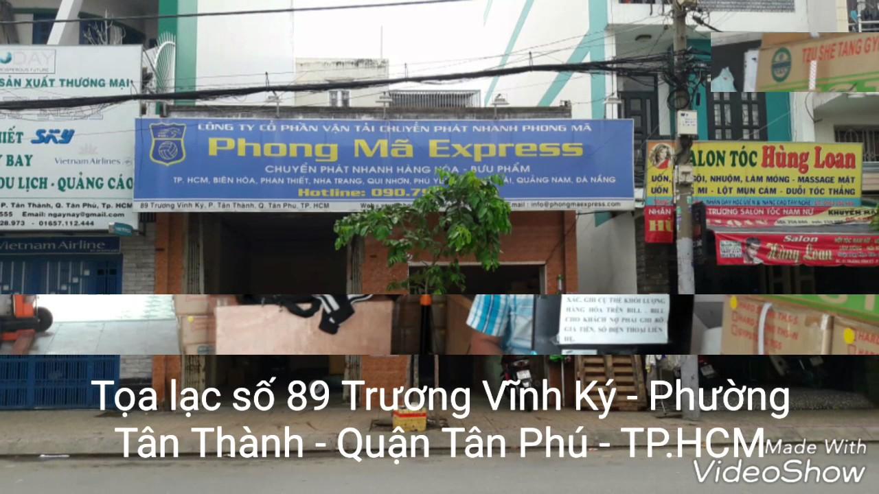 Phong Mã Express – Hành trình từ số 0 đến 20 tấn hàng hoá một ngày