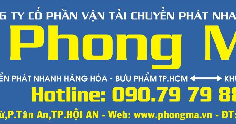 Phong Mã Khai Trương Văn Phòng Chuyển Phát Nhanh Hội An
